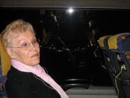 Grandma on the Paris Illuminations Tour - April 2008