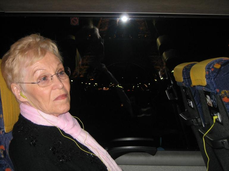 Grandma on the Paris Illuminations Tour - Paris