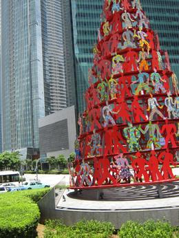 A colourful street sculpture - September 2009