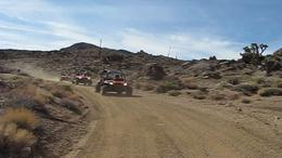 RZR's on desert terrain - July 2011