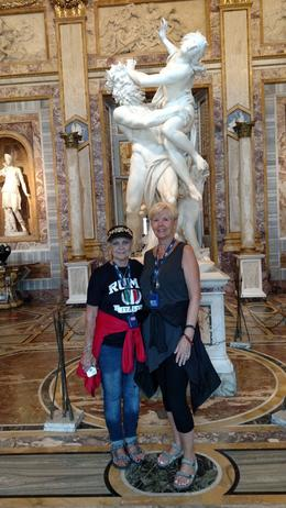 The Borghese is a must, don't miss it. And it never seems to be overcrowded, because they schedule how many people can be in there at one time! , Patricia A M - October 2016