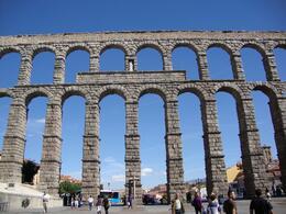 The Segovia Acquedute - a spetacular historical trip! - October 2009