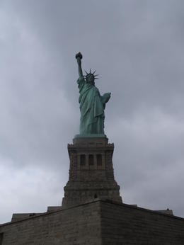 Visiting Statue of Liberty and Ellis Island. , Ursula N - January 2014