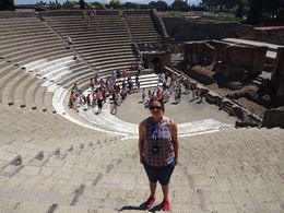 Foto binnen een theater in de stad Pompeii , arlette_van_oosterhout - July 2015