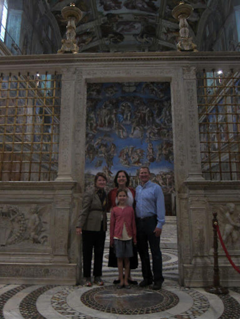 At the Sistine Chapel - Rome
