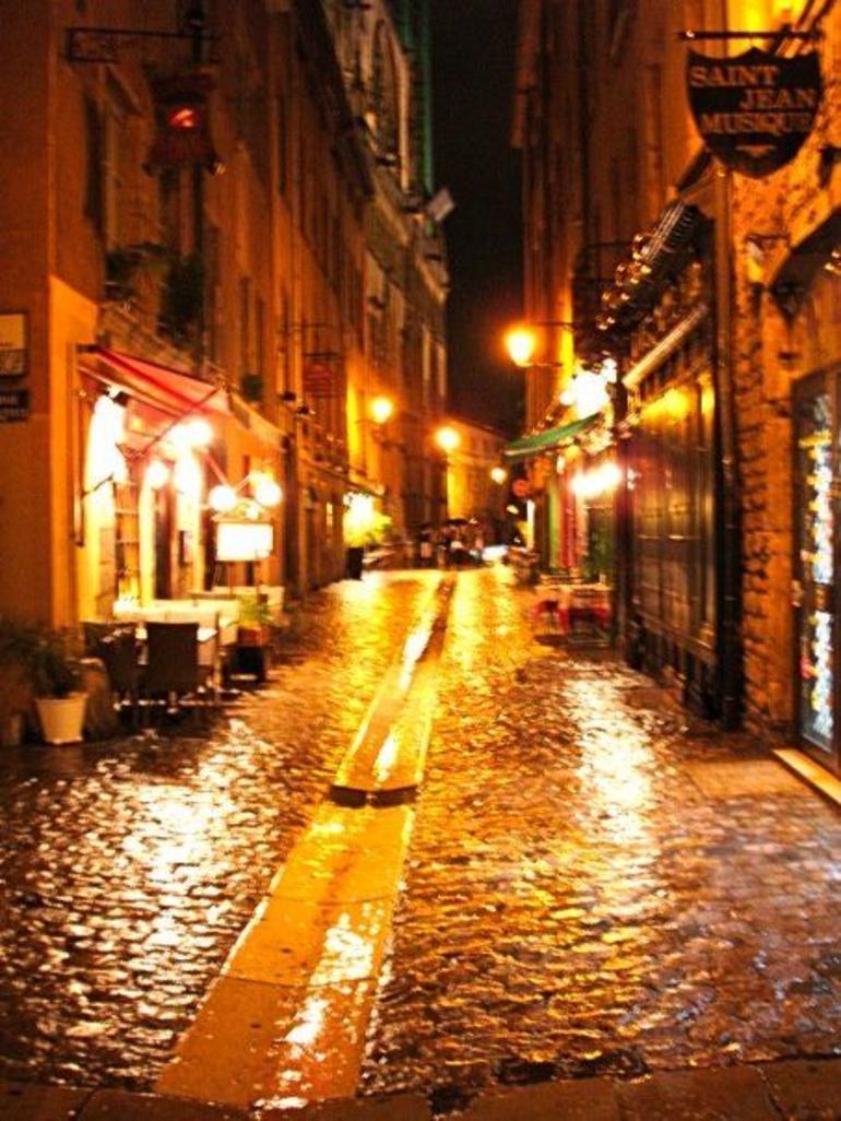Vieux Lyon by night - Lyon