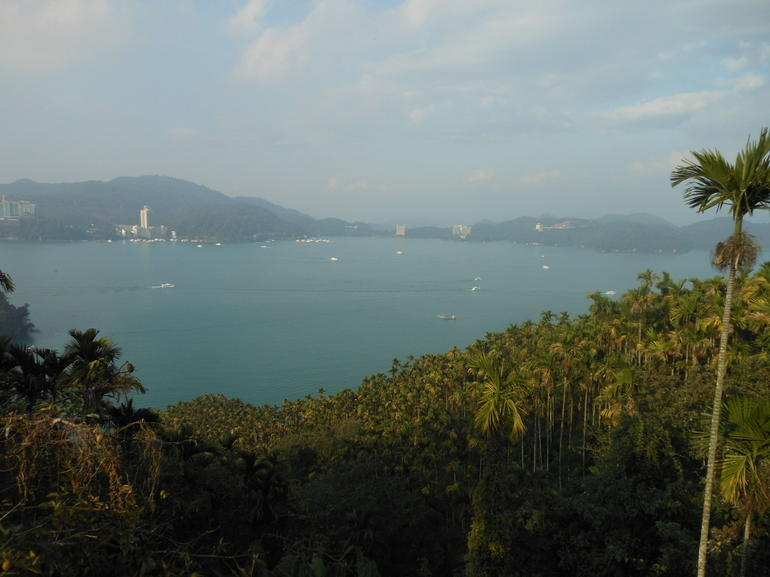 View of Sun Moon Lake from Ci En Pagoda - Taiwan