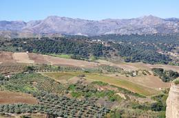 The views go on and on from the Tajo Gorge , kands - November 2012