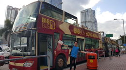 My First experience in big bus , KiEn O - November 2015