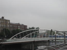 One of the many bridges that allow you to cross over the river Liffy. , Nikki H - July 2012
