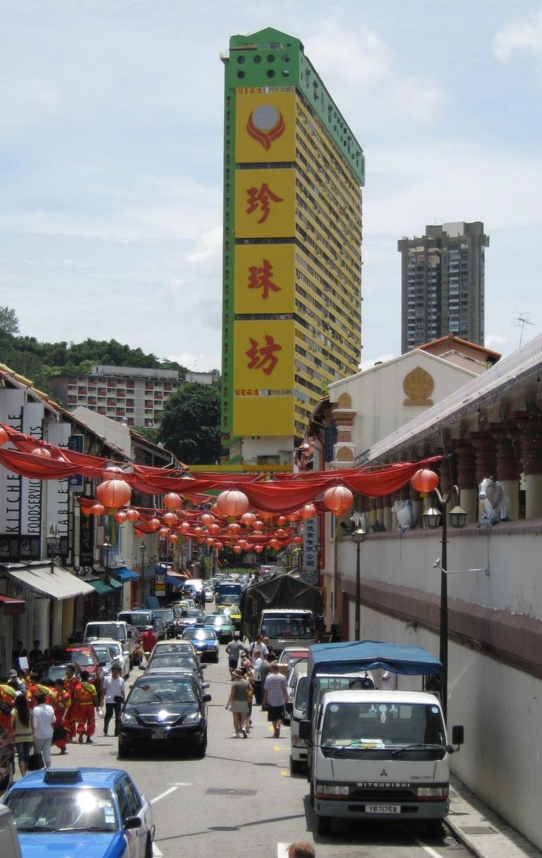Heritage tour - street scene - Singapore