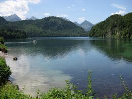 The lake near Hohenschwangau where Ludwig II grew up, Alison C - July 2010