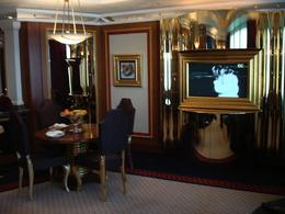 Part of the living room in a suite at the Burj al Arab , jeff - May 2011
