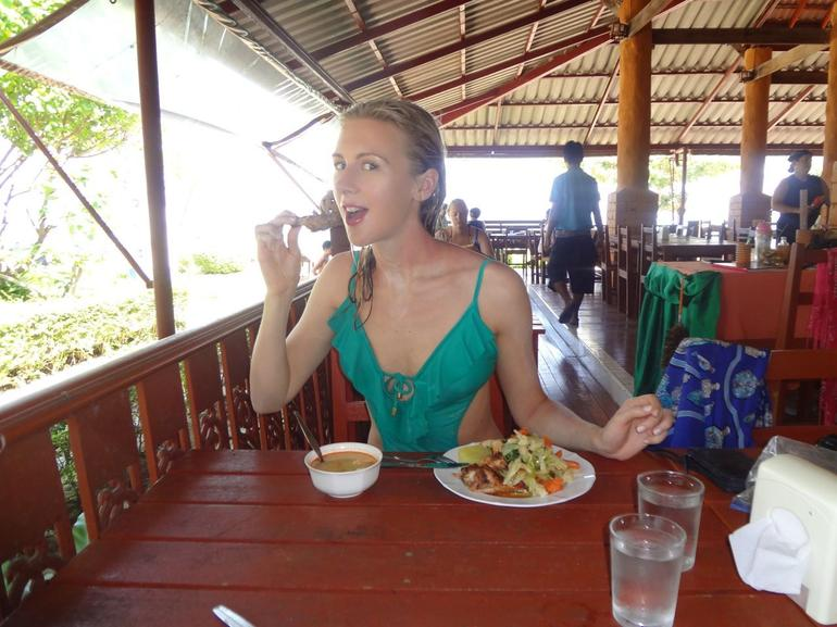 Lunch at the restaurant - Phuket