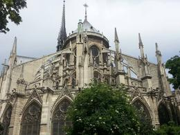Pic of the back end of Notre Dame , James R - June 2013