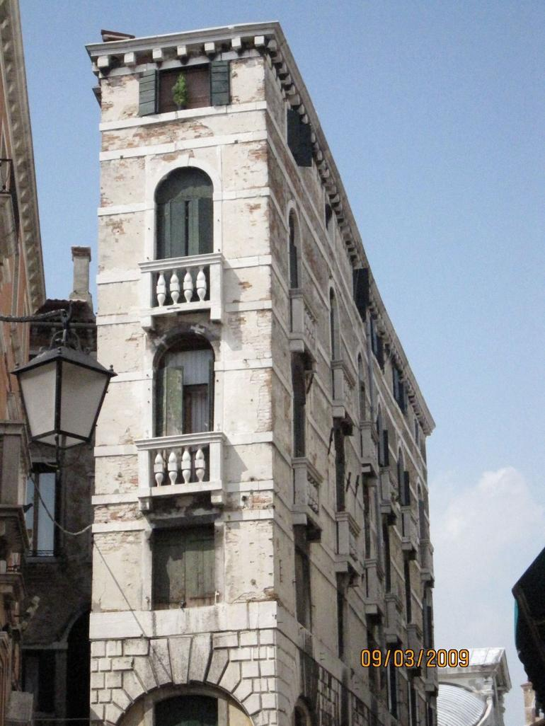one narrow building - Venice
