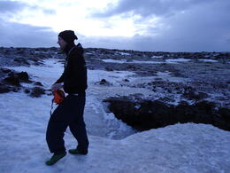 Just before we entered the lava cave. , vultmog - March 2014