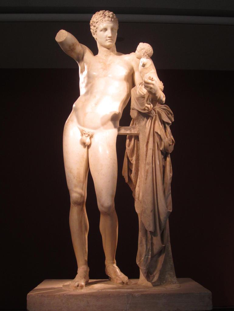 Praxiteles Hermes - Athens