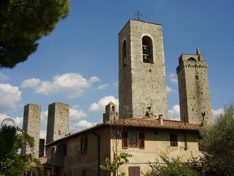 San Gimignano Towers - Florence