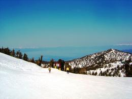 The top of Heavenly Ski Resort , Leah - May 2011