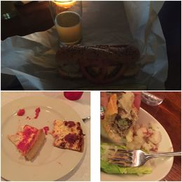 Some of the food from the tour , Brynna S - March 2016