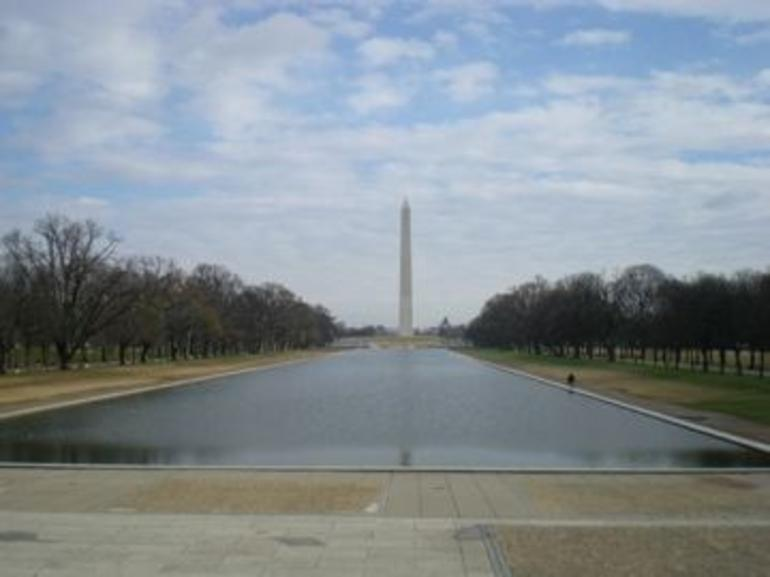 Washington Monument and Reflection Pool - New York City