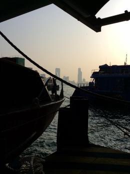ferry docks from hk to macau , Christina M - February 2017