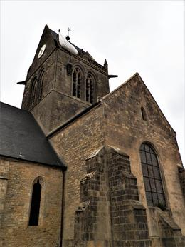 Ste. Mere Eglise real-life setting of The Longest Day. Taken by Erin , Erin - June 2017