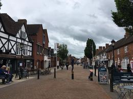 Cute street in Stratford-upon-Avon , Jessica H - June 2017