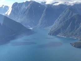 Coming into Milford Sound from plane , pcfrederick - December 2017