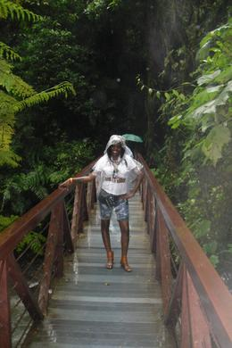 On the bridge in the middle of the rain forest..., Shaundrea M - September 2010
