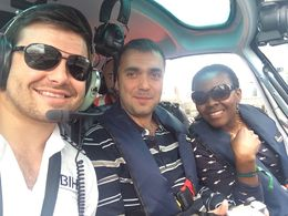 With the Pilot! , Ms Plaxey - August 2015
