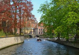 The beautiful town of Brugge, Belgium is like being in a fairytale! , Kiana C - May 2016