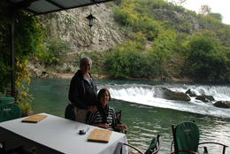 A special lunch break on the side of the Buni River , Felicidado P - November 2013