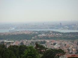 Istambul and the Bosphorus from Camlica Hill on the Asian side of the city. , ricotarola - June 2012
