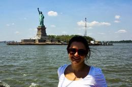 Esse foi o quão próximo o barco chega da estátua. Velejando!! , celloca - June 2013