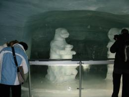 Sculptures in the ice palace - December 2009