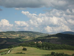 The Tuscan countryside in Val D'Orcia , Marya G - June 2012