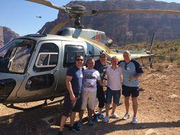 The crew posing outside the Chopper , Karlos - September 2015