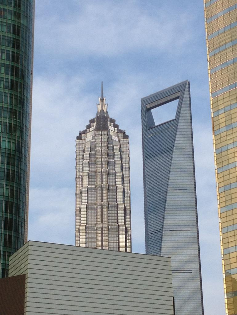 Jin Mao and World Financial Center -