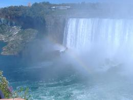 Another shot of the falls with a rainbow - it's absolutely beautiful!, Michelle A - September 2007