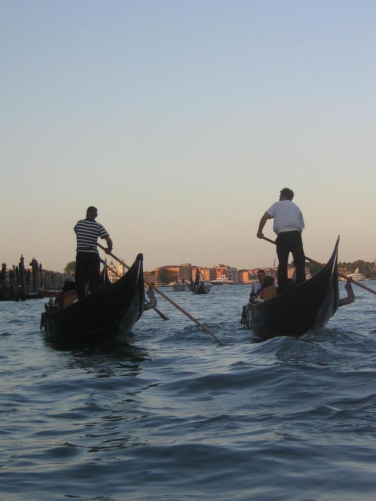 On the Grande Canal, Venice - Venice