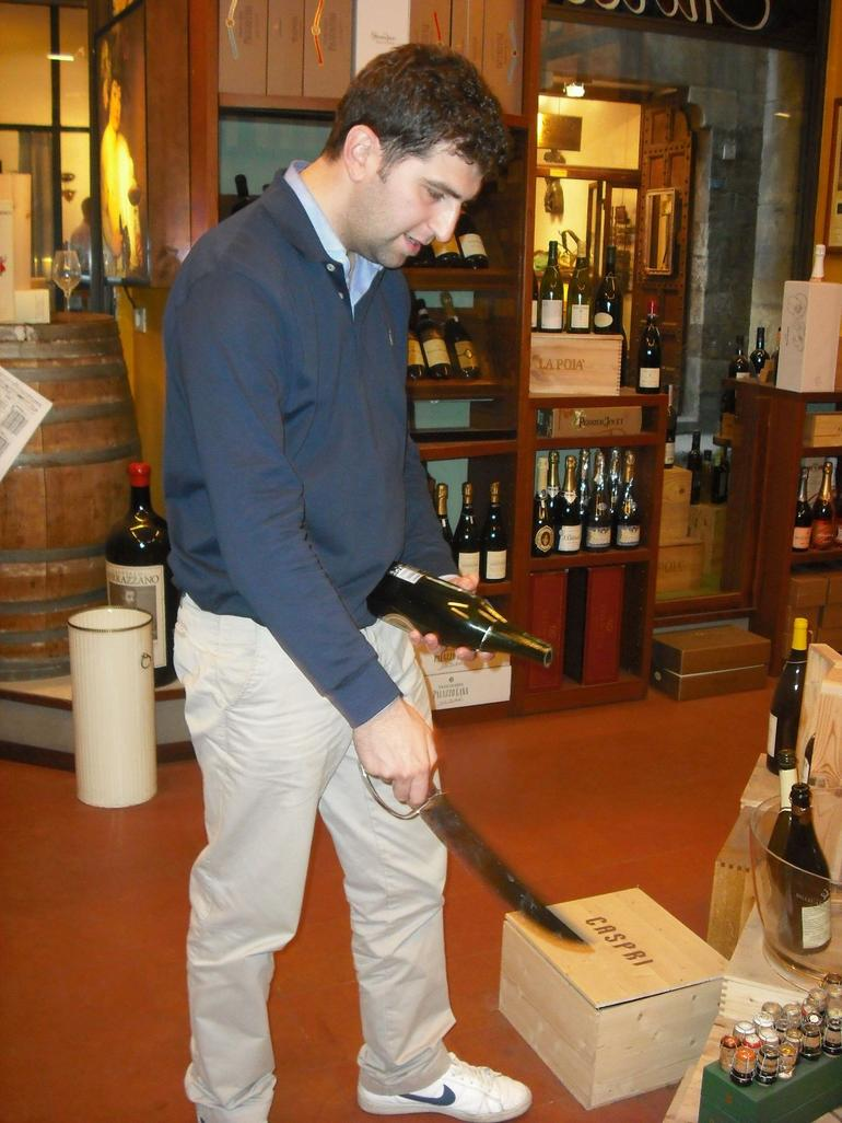 Our Tuscan wine tasting - Florence