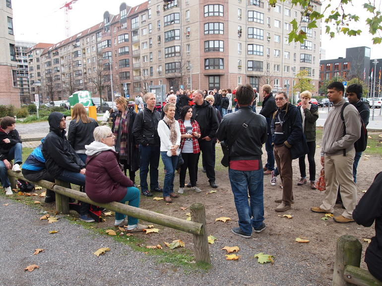 Our group on the Final Days of WWII Walking Tour of Berlin - Berlin