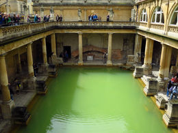 Hanging out at roman baths - 12th - 16th century old. , marlae - June 2015