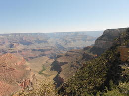 A photo from the spot on the rim where I had lunch. Again, amazing. , Jennifer B - May 2012