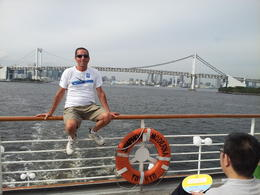 On-board the Symphony for the Tokyo Bay Cruise , David R - September 2014