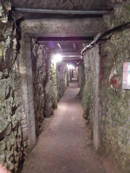 Inside the bunker at Vimy Ridge , jatypan - September 2015