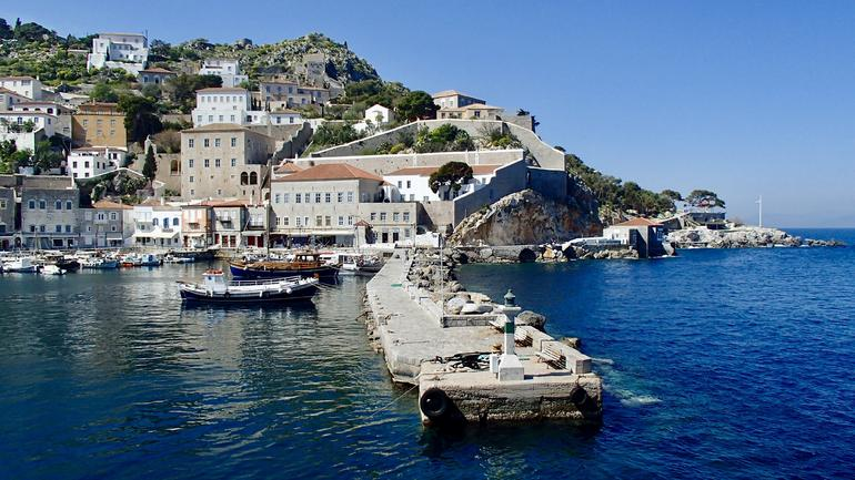 Hydra, Poros and Egina Day Cruise from Athens with Optional VIP Upgrade