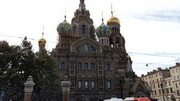 Church of the Savior on Blood absolutely amazing , Peter D - September 2017